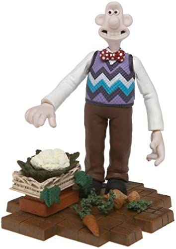 bajo precio Wallace and Gromit Gromit Gromit and The Curse of The Were Rabbit Wallace Action Figure by McFarlane  varios tamaños