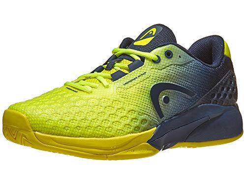 HEAD Herren Revolt Pro 3.0 Tennisschuh, Mehrfarbig (neon gelb / dunkel blau), 46 EU