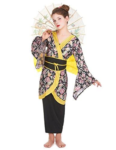 Disfraz de geisha para niña - 10 - 12 años