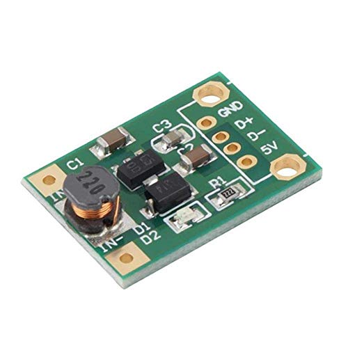 L-YINGZON DC-DC 1V-5V To 5V 500mA 30pcs Boost Converter Step Up Power High Efficiency Module Module Receivers