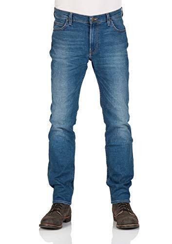 Lee Rider Vaqueros Slim, Azul (Blue Drop Em), W29/L32 para Hombre