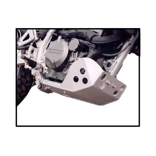 Kawasaki KLR 650 SW Motech Crash Bar Compatible Version Full Protection Skid Plate Constructed with 3