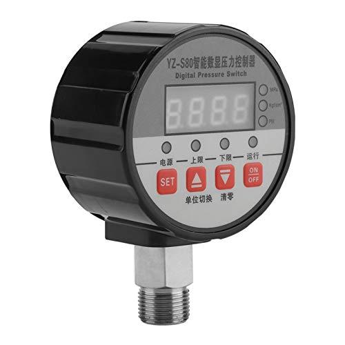 Interruptor de presión digital, controlador de presión multifuncional de alta precisión de control, laboratorio para tratamiento de sistemas de tratamiento de agua Escuela de posgrado