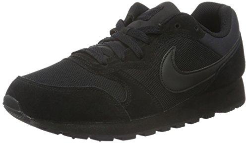 Nike MD Runner 2 Zapatillas de running Hombre, Negro (2), 47 EU