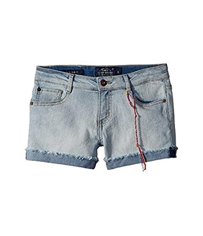 ラッキーブランド Lucky Brand Kids キッズ 女の子 ショーツ ハーフパンツ Bella Wash Riley Denim Shorts in Bel [並行輸入品]