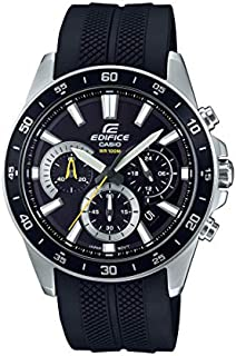 Casio Men's Edifice Stainless Steel Quartz Watch with...