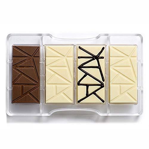 Decora 0050083 Molde para Chocolate Tableta 200X120X22MM