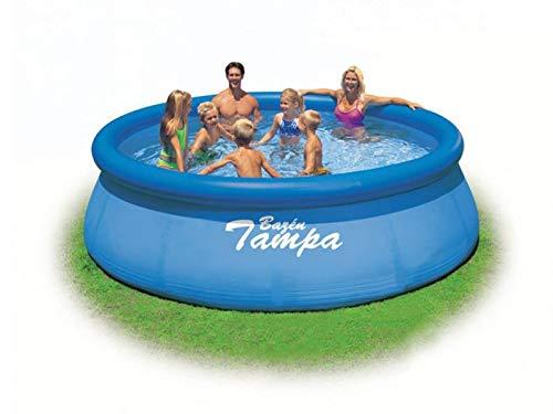 Marimex Tampa Swimmingpool, Aufblasbarer Pool für Garten ohne Zubehör, rund 3,66 x 0,91 m