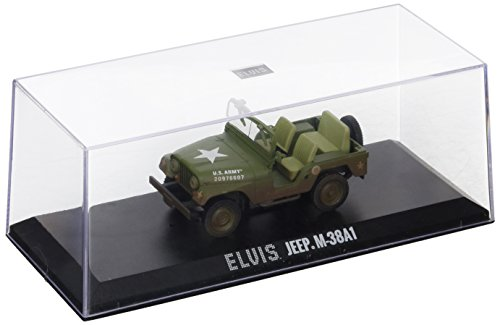 Greenlight Collectibles 86311 Jeep Cold War – Elvis Presley – schaal 1/43 – groen
