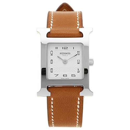 (エルメス) HERMES HERMES 時計 エルメス 036706WW00 HH1.210.131/VBA HウォッチPM レディース腕時計 ウォッチ ブラウン/シルバー/ホワイト [並行輸入品]