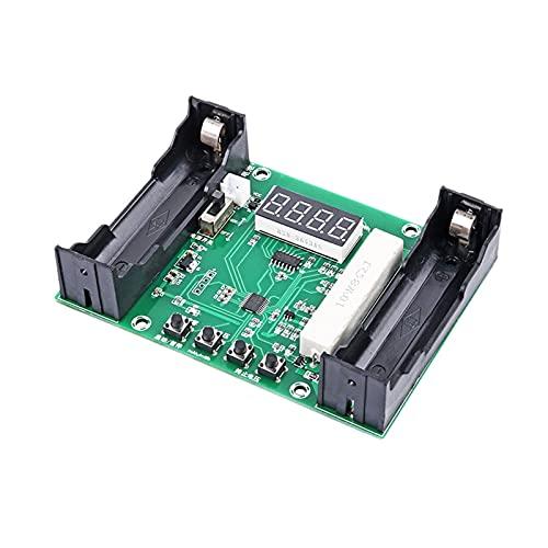 Lixiaonmkop Batteriekapazitätstester MAH MWH für 18650 Lithiumbatterie Digitalmessung Lithium Batteriemodul Modul (Color : Green)
