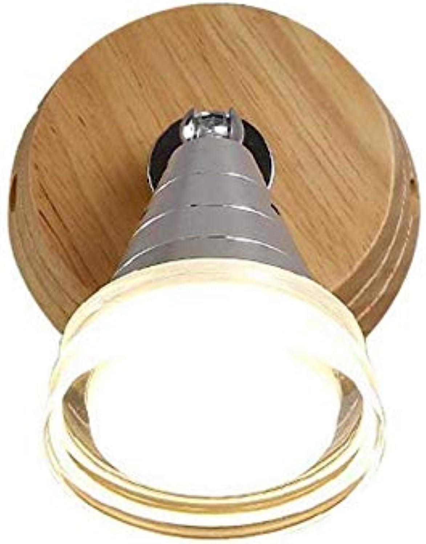 Kronleuchter-Wandlampe, Nachttischlampe beleuchtete hlzernes Feuer-Haus-Ausstellung vor dekorativem Spiegel-Balkon-Flur, Lampen und modischen Laternen 35  15Cm