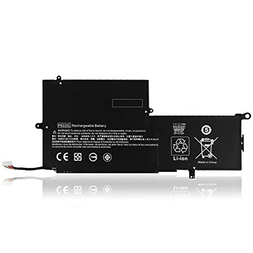 EndlessBattery PK03XL Replacement Laptop Battery Compatible with HP Spectre Pro X360 G1 G2 13-4000 13-4100 13-4200 13-4000nf Series Laptop HSTNN-DB6S TPN-Q157 789116-005 788237-2C1(56Wh 11.4V)