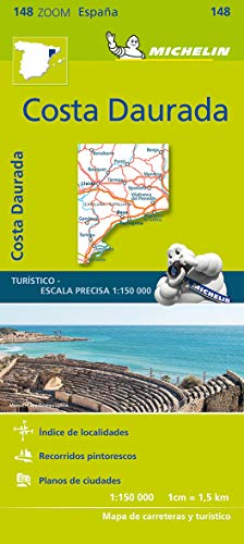 Michelin Mapa Zoom Costa Daurada