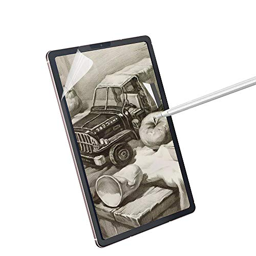 """Paperfeel Galaxy Tab S6 Lite 10.4"""" Screen Protector,Paperfeel Galaxy SM-P615 Matte PET Film for Drawing No Glare and Paper Texture, Compatible with S-Pen"""