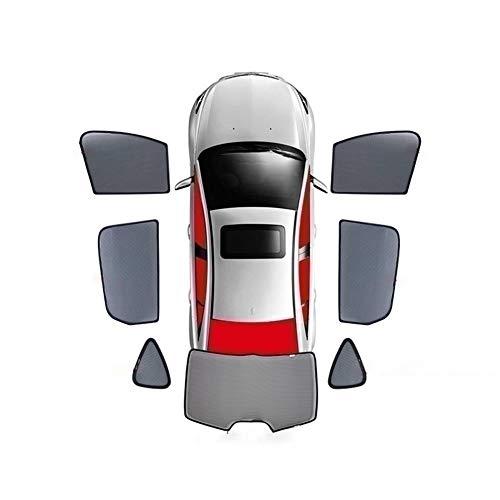 For Peugeot 307 308 408 2008 3008 4008 Magnética Cortina De Ventana Especial Sombrillas Malla Sombra Ciego Totalmente Cubierto Coche Anti-mirón (Size : Whole Car 7 Pieces)