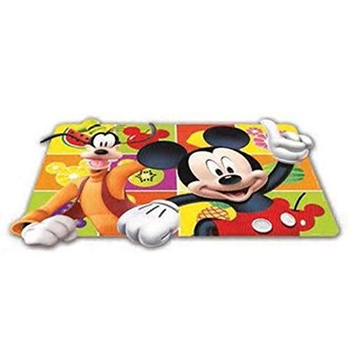 ALMACENESADAN 2332; Mantel Individual lenticular Mickey Mouse, Producto de plástico; Dimensiones 43x29 cm