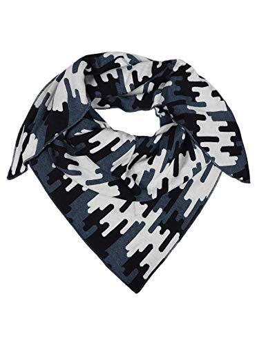 Zwillingsherz Dreieckstuch aus Baumwolle - Hochwertiger Schal in Camouflage Design für Damen Jungen Mädchen - Uni - XXL Hals-Tuch und Damenschal - Strick-Waren - Frühjahr Sommer Herbst Winter - jns