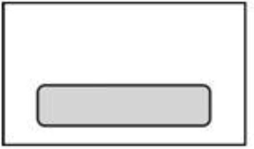 No. Max 61% OFF 6-3 4 White A Window Envelopes 2