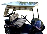 Tektrum Universal 120 watt 120w 36v Solar Panel Battery Charger Kit for Golf Cart - Charge While Driving, Save Electricity Bill,...