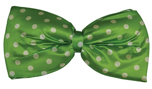 Costumes For All Occasions BB43BU Bow Tie Jumbo Polkadot Blue Bow Tie Jumbo Polka Dot
