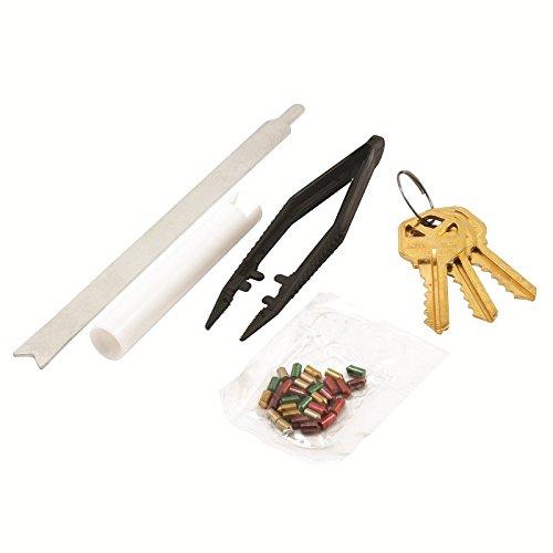 Prime-Line E 2400 Re-Key A Lock Kit, Kwikset, 5-Pin Tumbler Sets w/Pre-cut Keys