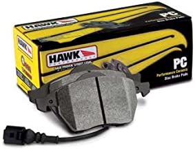 Hawk Ceramic Front and Rear Brake Pads Compatible for 2003-2009 PORSCHE CAYENNE 18 in. Wheel