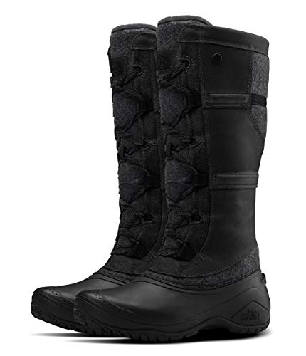 The North Face Shellista IV Tall Winter Boot, TNF Black/Zinc Grey, 9