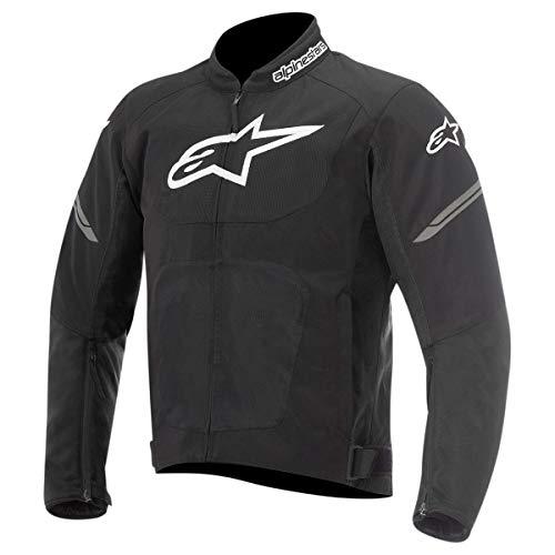 Alpinestars Men's Viper Air Textile Motorcycle Jacket, Black, XL