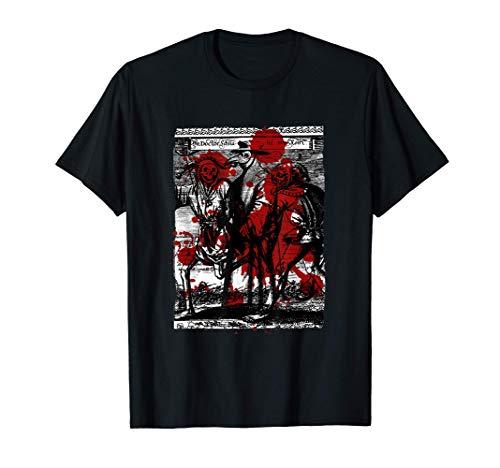 Pestdoktor Kostüm, Plague Doctor Costume, Seuchendoktor Mask T-Shirt