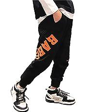 [ウェアビー]スウェット ロングパンツ ロゴプリント ズボン ジュニア ボーイズ キッズ ガールズ 100~160