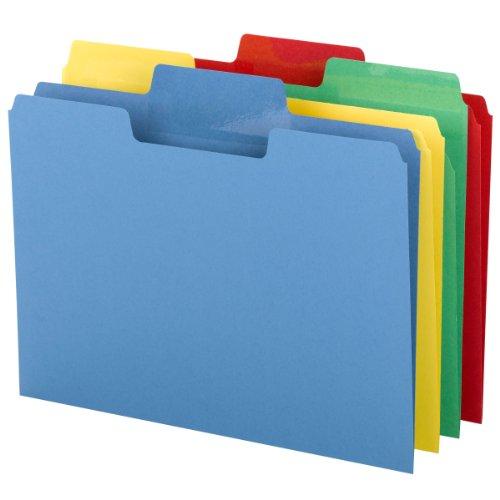 Smead Erasable SuperTab File Folder, Erasable Oversized 1/3-Cut Tab, Letter Size, Assorted Colors, 24 per Pack, (10480) Photo #4