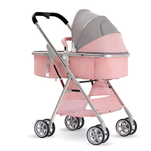Lowest Prices! JIAX Infant Baby Stroller, for Newborn and Toddler -Convertible Reclining Stroller, F...