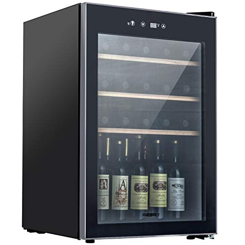 KUPPET Compressor 36 Bottle Wine Cooler, Counter Top Wine Cellar/Chiller, Wine Refrigerator Single...