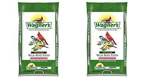 Wagner's 13013 Four Season Wild Bird Food, 40-Pound Bag (2,BAGS)