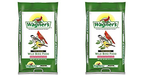 Wagner's 13013 Four Season Wild Bird Food, 40-Pound Bag (2,BAGS)