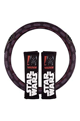 Star Wars STW102 Conjunto de 2 Almohadillas + 1 Funda de