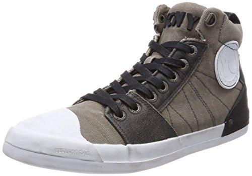 Yellow Cab Herren Grind M Hohe Sneaker, Grau (Grey), 44 EU