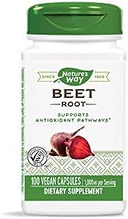 Nature'S Way - Beet Root 500 Mg. 100 Vegetarian Capsules