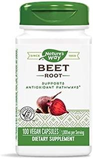 Nature's Way Beet Root, 1,000 mg per serving, 100 Vegetarian Capsules