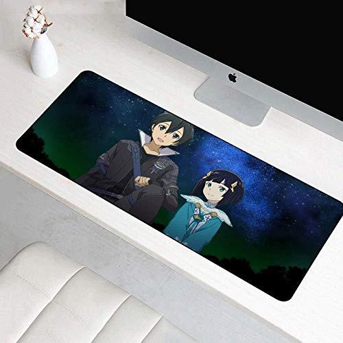CFTGB Gaming Muis Pad Zwaard Art Online Anime Cartoon Grote Muis Mat Game Toetsenbord Mat Cafe Mat Mousepad voor Computer PC muismat