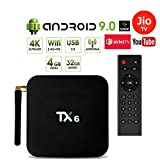 Profitech Communication® TX6 Allwinner H6 TV Box (4GB RAM 32GB ROM) with Android