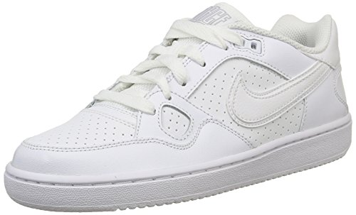 Nike Herren, WMNS Son of Force, Mehrfarbig (White/White-Wolf Grey-White), 40