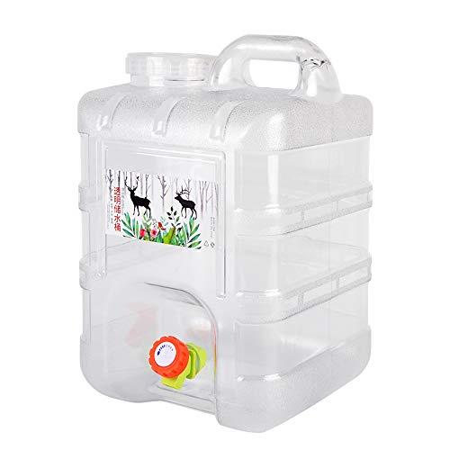 outdoor product Kampierender quadratischer Plastikwasserbehälter 20L im Freien,Tragbarer Reiseauto-Wasserspeichereimer Notwasserspeicher mit Wasserhahn ,Trinkwasserspeichereimer