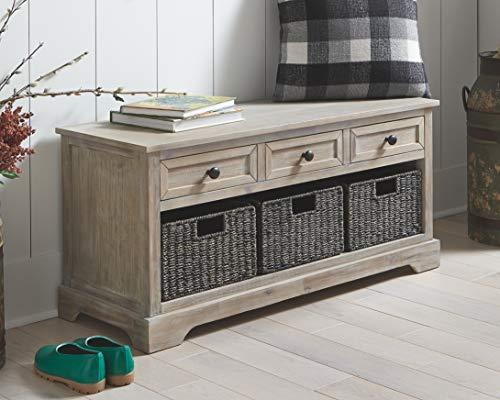 Ashley Furniture Signature Design Oslember Storage Bench
