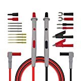 Doolland P1503B Sondes multimètres Aiguilles interchangeables Fils de Test Kits Sondes pour multimètres numériques Palpeurs pour Embouts de multimètres