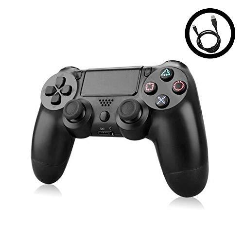 Mando PS4 DualShock 4 Mando Inalámbrico PlayStation 4 Controlador Doble Impacto Mango Joystick Game Board Play Station 4. Cable USB