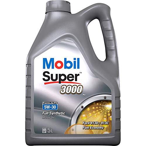 Comma 151176 5L Mobil Super 3000 - Aceite sintético de Motores diésel y Gasolina de turismos (5W-30, 5 l)