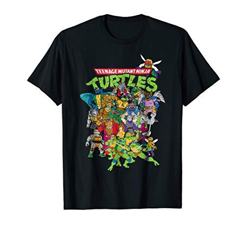 Teenage Mutant Ninja Turtles Large Character Group T-Shirt