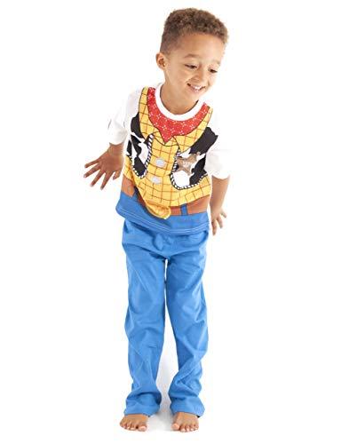 Toy Story Boys Woody Pijama Disfraz Ropa de dormir (7-8 Años)